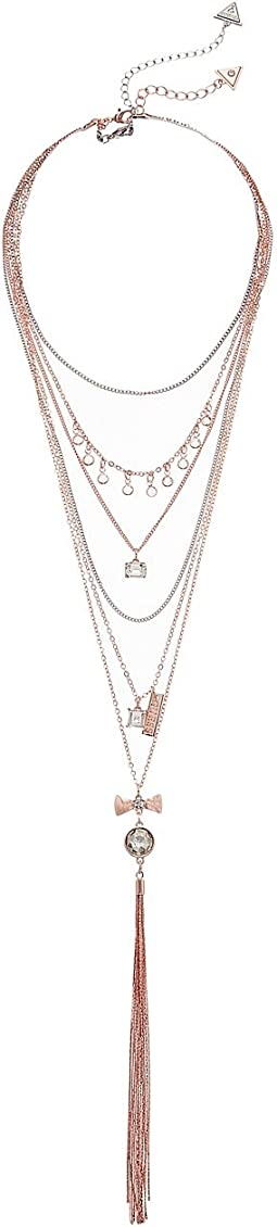 GUESS - Five-Row Choker and Necklace Multi Set