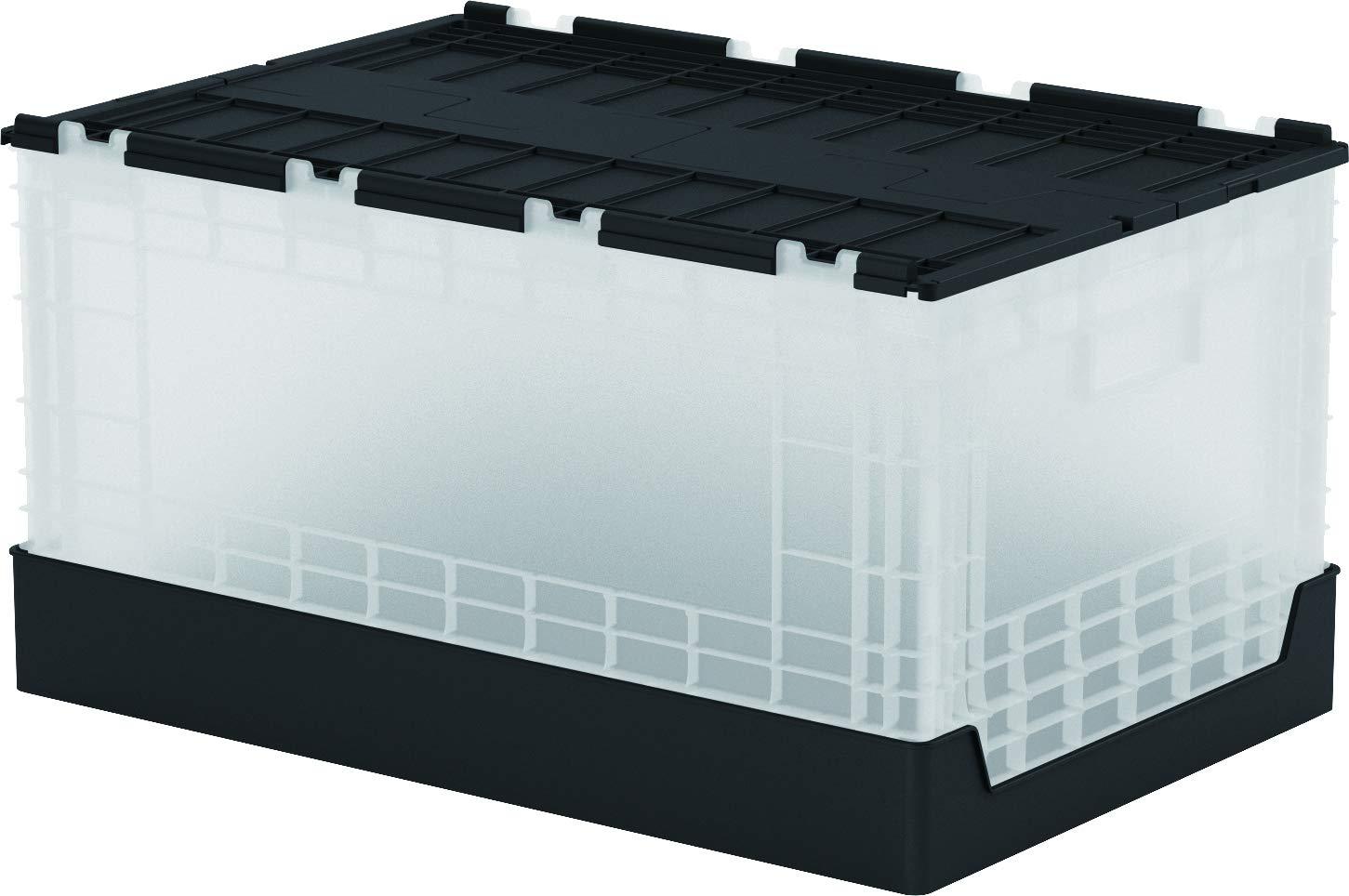 livinbox 58L Plegable Caja de Almacenamiento - Transparente: Amazon.es: Hogar
