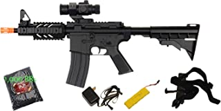 new ukarms d2806 aeg airsoft rifle & 1000 bbs m4 cqb ris electric w/tactical acc(Airsoft Gun)