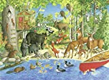 Ravensburger 82117 Great Outdoors Puzzle Series: Woodland Friends  300 PC Puzzles for Adults – Every Piece is Unique, Softclick Technology Means Pieces Fit Together