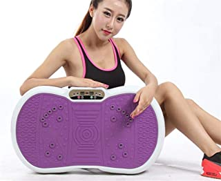 High quality Full Body Vibration Plate Exercise Fitness Machine, Portable with Remote Fitness Equipment (Color : 2)