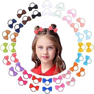 40 piezas para bebés, lazos para el cabello, cintas para el cabello, banda elástica para el cabello, accesorios para el ca...