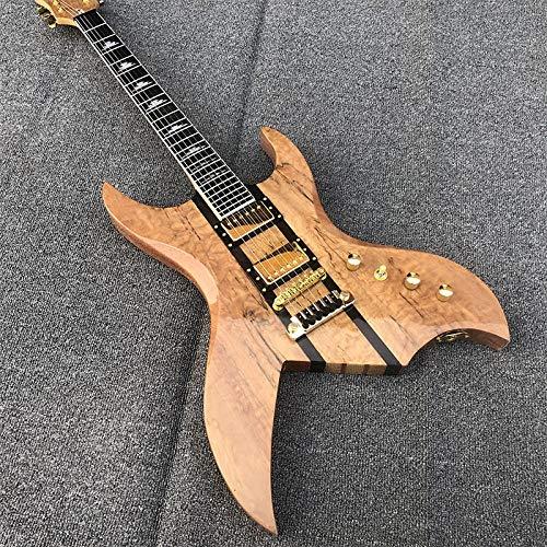 Guitarra Guitarra Eléctrica Estilo Chino Guitarra Eléctrica Cuello De Oro Cuerpo De...