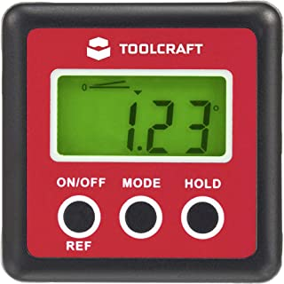 TOOLCRAFT TO-4988565 Digitale hoekmeter 360 °