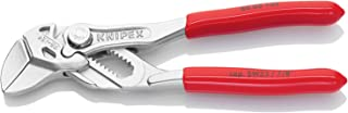 KNIPEX Tools 86 03 125, 5-Inch Mini Pliers Wrench
