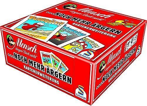 Schmidt Spiele Pour des hommesch rgere Dich nicht-... MORE WORRY voitured Expansion, rouge by Schmidt Spiele