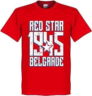 Red Star Belgrade 1945 Tee - Red