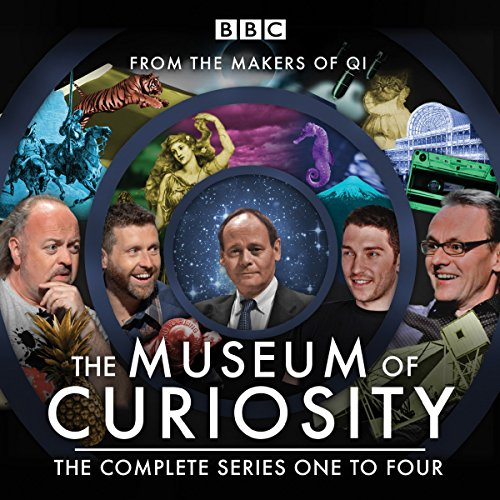The Museum of Curiosity: Series 1-4 audiobook cover art