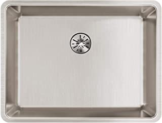 Elkay Lustertone Iconix ELUHH2115TPD Single Bowl Undermount Stainless Steel Sink with Perfect Drain