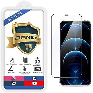 """Película De Vidro Temperado 3D Full Cover Para Iphone 12 Pro Max com Tela de 6.7"""" Polegadas - Proteção Blindada Top Premiu..."""