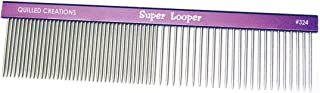 Quilled Creations Super Looper Quilling Comb, Acrylic, Multicoloured, 2-different looping size,