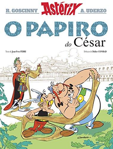 Astérix. O papiro do César (Infantil E Xuvenil - Cómics Book 36) (Galician Edition)