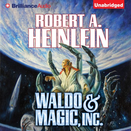 Waldo & Magic, Inc. audiobook cover art