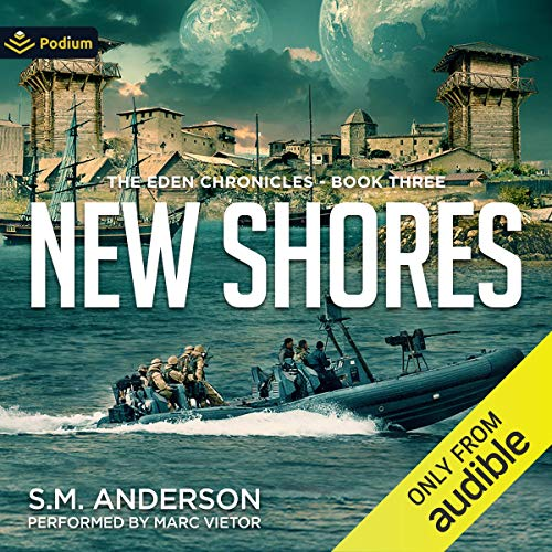 New Shores Audiobook By S. M. Anderson cover art