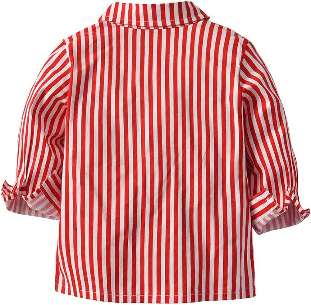 Fairy Baby Baby Junge Weihnachts-Outfit Fliege Shirt Hose Kleidungs-Set Kleinkind-Weihnachtskost/üme