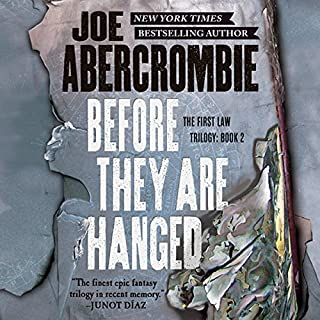 Before They Are Hanged audiobook cover art