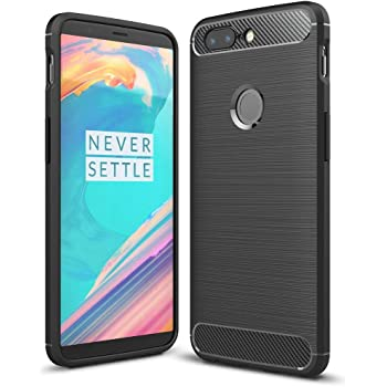 NALIA Funda Carbono Compatible con OnePlus 5T, Protectora Movil ...