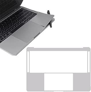 MacBook Pro 13インチ 2016 Touch Bar搭載モデル 内側保護シール MaxKu 硬度4H保護シート 防水 キズ防止 スキンシール 防塵 本体保護フィルム リストシール保護フィルム (対応モデル:2016 New MacBook Pro 13 Touch Bar搭載A1706)(シルバー)