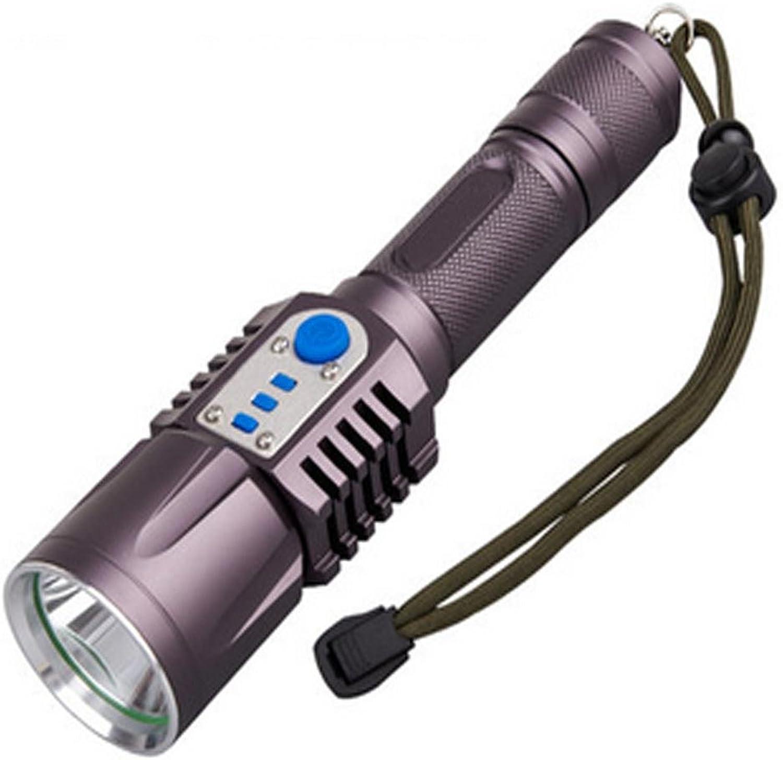 Jia&he L2 led Taschenlampe led wiederaufladbaren 18650 ultra leichte wasserdichte Mini Aktionsraum 500 m , D B01MCW4O56   In hohem Grade geschätzt und weit vertrautes herein und heraus