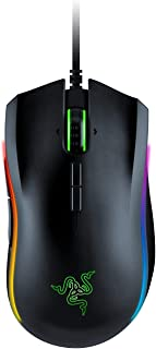 RAZER MAMBA ELITE: 5G True 16,000 DPI Optical Sensor - 9 Programmable Buttons - Ergonomic Form Factory - Razer Chroma Enabled - Esports Gaming Mouse (Renewed)