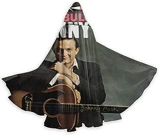 JoyceMHunter Johnny Cash The Fabulous Johnny Cash CapeHalloween Costume Masquerade Cloak,Adult Halloween Cloak,Halloween Cape
