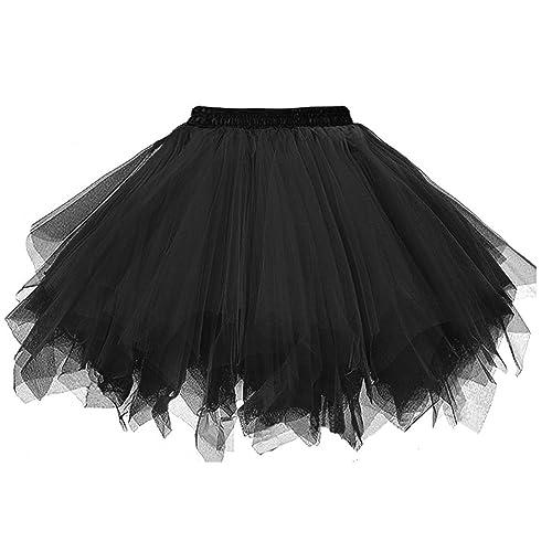 2b5dc394c7 Topdress Women's 1950s Vintage Tutu Petticoat Ballet Bubble Skirt (26  Colors)