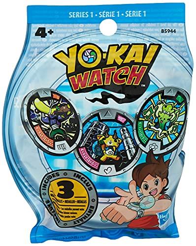 Yo-kai Watch 1 Sobre con 3 medallas sorpresa cada uno, Multicolor (B5944EU40), color/modelo surtido