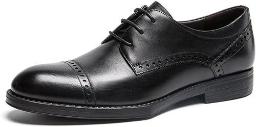 LEDLFIE Kleid Kleid Kleid Schuhe Klassische Business Schuhe Spitze Pendeln  bis zu 65% Rabatt