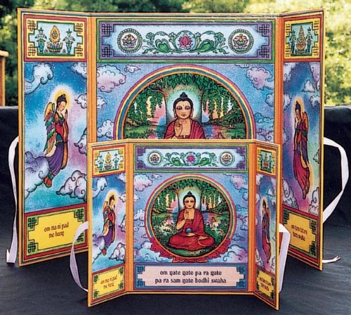 Buddha Altar (The Mandala Stand-Up Altar Series)