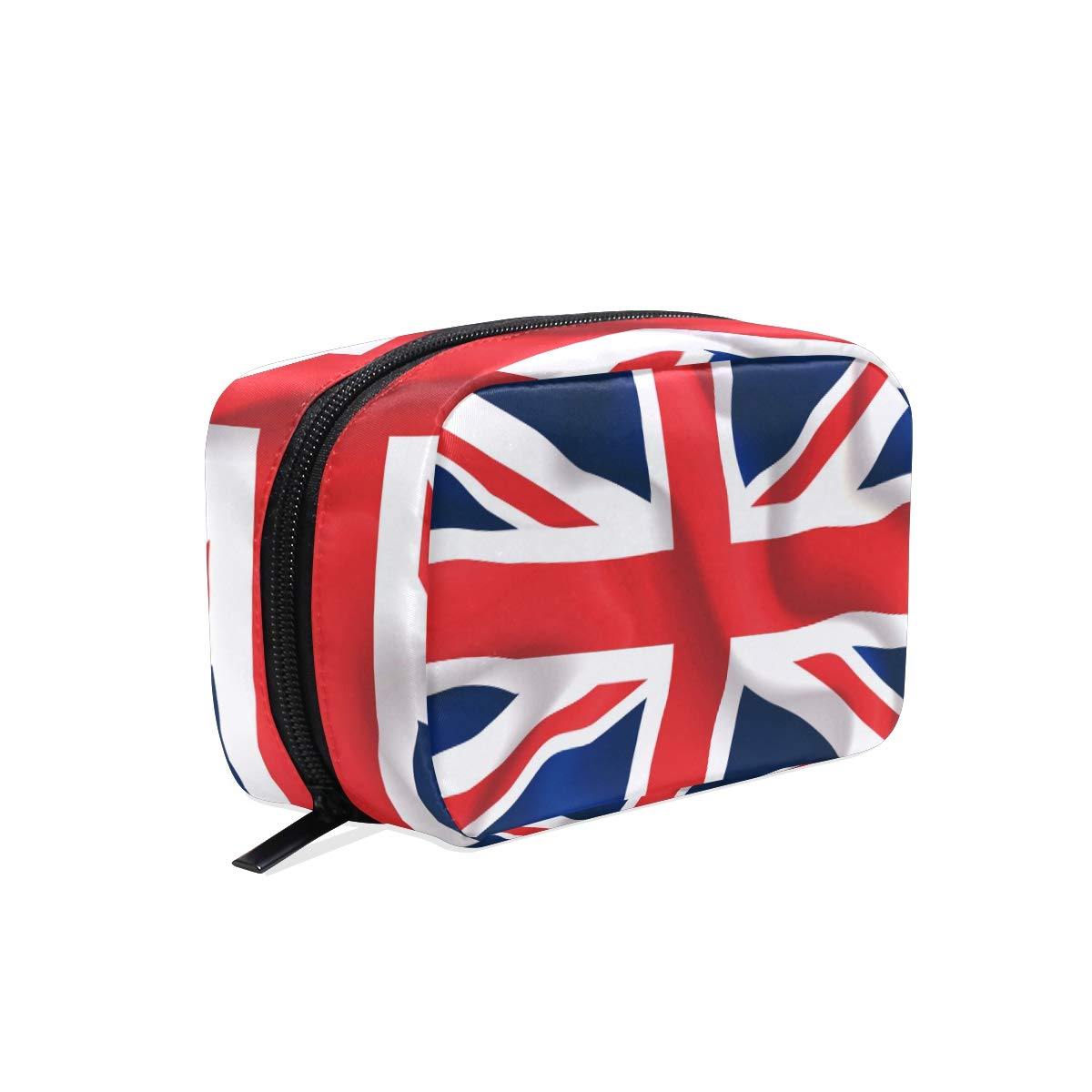 Outlet SALE Uk Flag Makeup Bag Travel Case Women Easy-to-use Cosmetic for Train