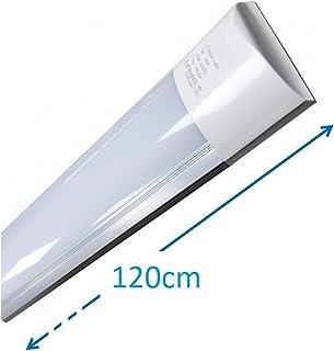 Luminaria LED de Superficie 120 cm, 40w. Color Blanco Frio (