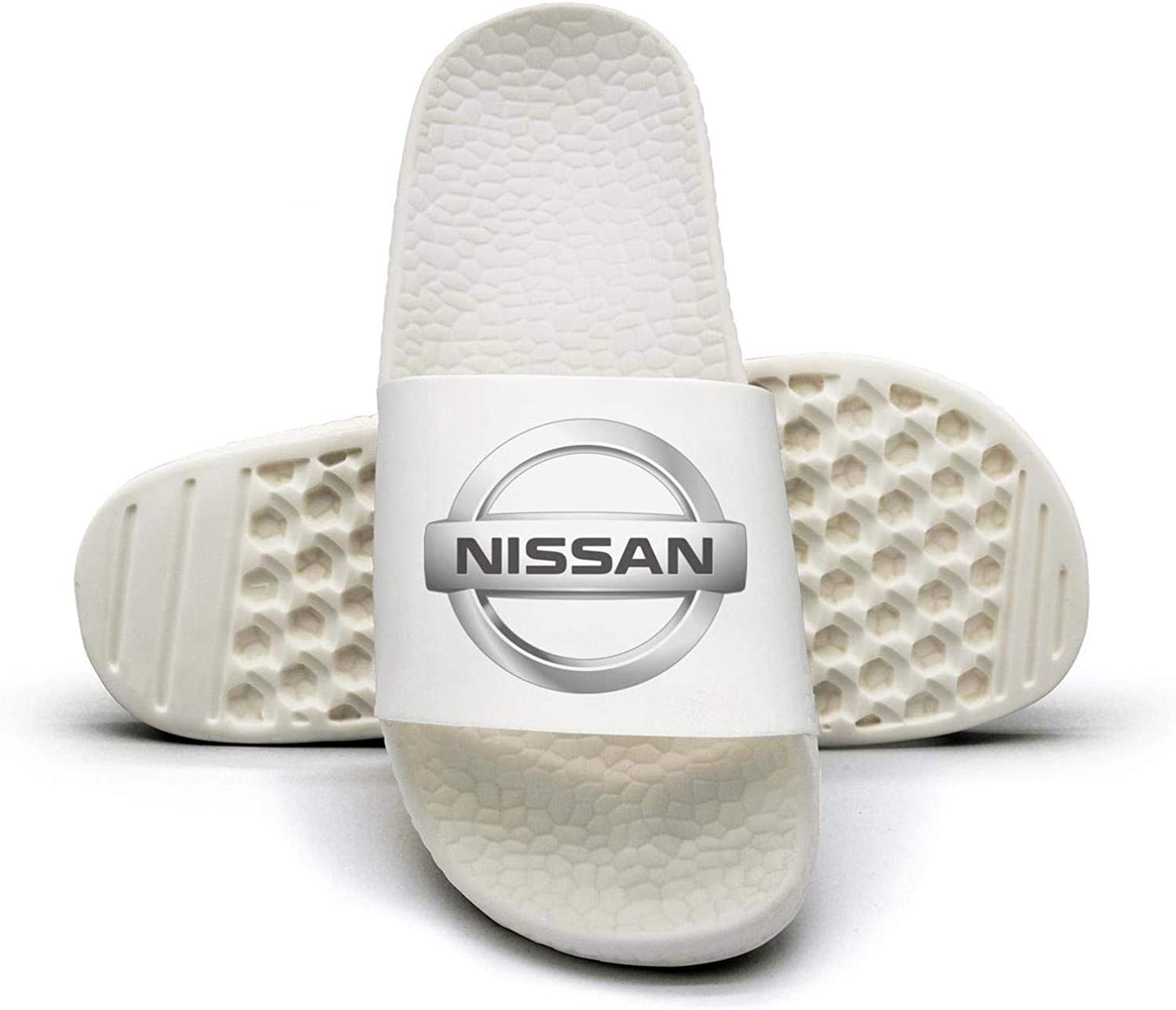 EIGKASL Printed Non-Slip Slippers Slide flip Flop Sandals Nissan-Emblem-Logo-Symbol-Summer Casual for Womens
