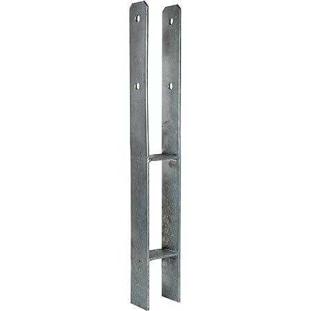 Pfostenträger H-Anker feuerverz.141 x 600 mm Pfostenschuh