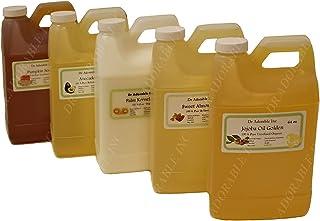 Aceite de cacahuete sin refinar orgánico 100% puro, 2 cuartos