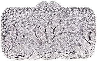 Fawziya Rhinestone Floral Clutch Bags For Womens Purses And Handbags