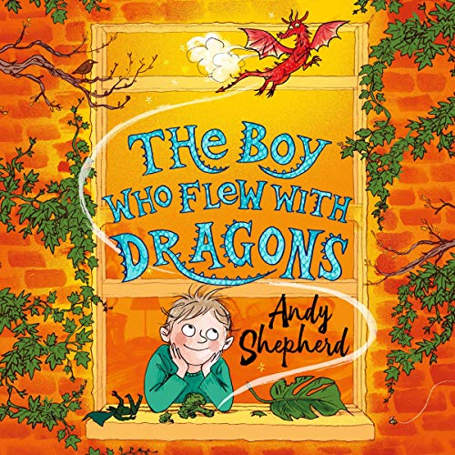 The Boy Who Flew with Dragons audiobook cover art