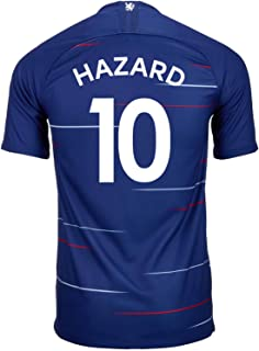 Nike Hazard #10 Chelsea Home Soccer Youth Jersey 2018/19