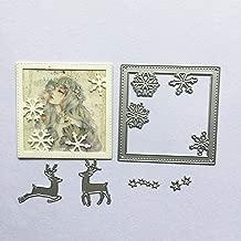 Dies Muzhili3 3 St/ück//Set Hirsch Metall Stanzformen DIY Scrapbooking Pr/ägung Papier Karten Schablone