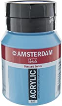 Royal Talens Amsterdam Standard Series Acrylic Color, 500ml Tube, King's Blue (17095172)