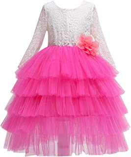 DOLYKUI 3-8 Years Girls Dress, Kids Girls Cosplay Princess Bridesmaid Pageant Gown Birthday Party Dress, Enjoy DOLYKUI Shopping Mall, Christmas Party Clothes New Year Gift