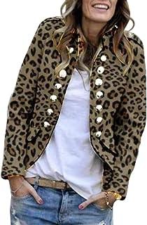 Blazer Femme Grande Taille Manche Longue Printemps Automne Veste de Tailleur Mode Chic /Él/égant L/âche Casual Confortable Soir/ée Blouson Costume daffaires Business Manteau