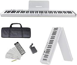 NikoMaku Portable Piano Keyboard 88 Key Electric Keyboard Pi