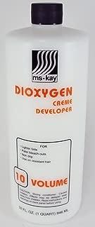 Ms Kay Dioxygen Creme Developer 10 Volume (3 different volumes!) (32 oz)