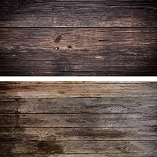 tama/ño peque/ño Tel/ón de fondo de Huayi para fotograf/ía para fotografiar alimentos y hacer fotos de estudio de madera 60 x 60 cm