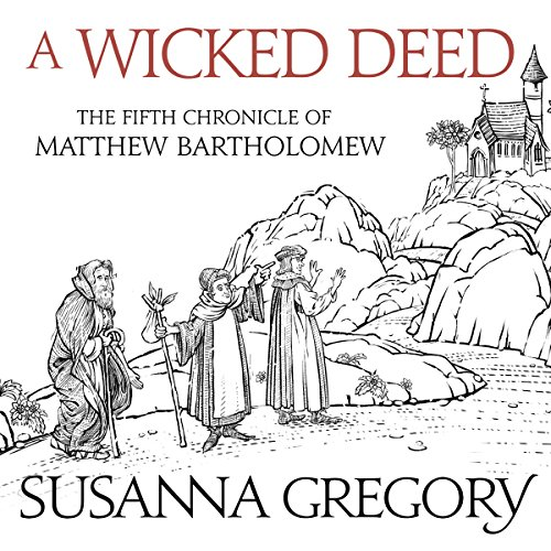 A Wicked Deed audiobook cover art