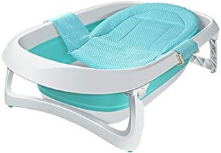 Collapsible Bath tub for Baby Space Saver tubs with Baby Bath Support