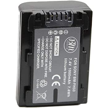 HDR-SR1 Cámara Digital ex-Pr Batería NP-FH50 NPFH 50 Para Sony HDR-HC62