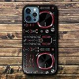 Funda iPhone 12 Mini Case Black TPU Shockproof Soft Silicone Cases Cover PI-One-EE-R D-DJ ER-GO M-127