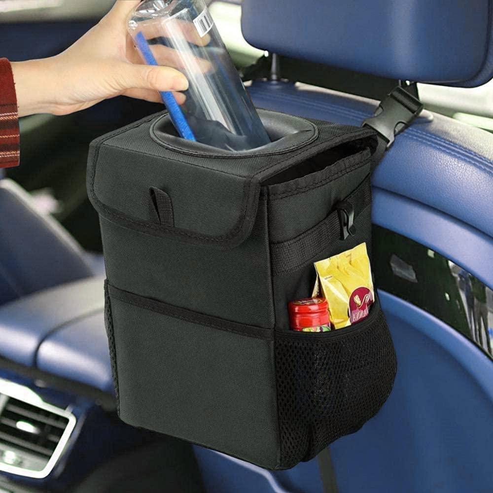 Car Trash security Can Bin Waterproof San Jose Mall Bag Dustbin Garbage Portable Mu