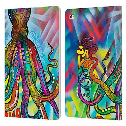 Head Case Designs Oficial Dean Russo Salvar Nuestros Mares Vida Marina Carcasa de Cuero Tipo Libro Compatible con Apple iPad Mini 4